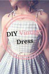 DIY Vintage Dress –
