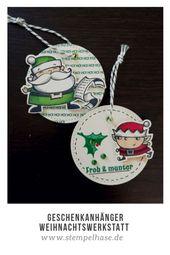 Window Fun Fold Card – Kartentechnik mit dem Stempelset Weihnachtswerkstatt von Stampin´Up!