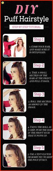 Hauchfrisuren werden in diesem modernen Trend immer beliebter. Hier erfahren Sie, wie Sie die Puff-Frisur Schritt für Schritt auf einfachere Weise erstellen. 2 Arten von Puffstilen € ...