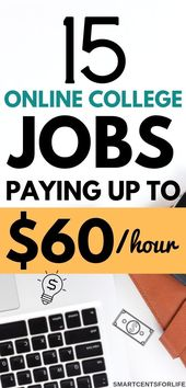 15+ Best Online Jobs for College Students (That ar…