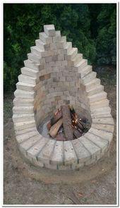 29 idées d'aménagement paysager de feu de camp et de jardin faciles et bon marché 25