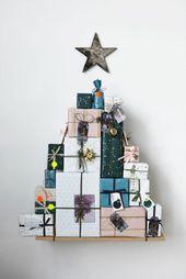Do you want to make an advent calendar yourself – creative craft ideas