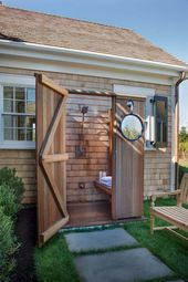 Coole Outdoor-Ideen für die Dusche für den heißen Sommer