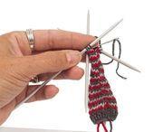 Anleitung: weihnachtliche Wichtel stricken – buttinette Blog,#anleitung #buttine…
