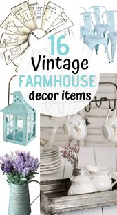 Vintage Farmhouse Decor Items You Need In Your Rustic Home NOW