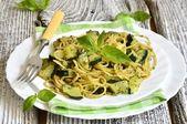 Recette Pâtes Carbonara à la courgette – Cuisine italienne simple et rapide – Pâtes – …   – Pates Recette