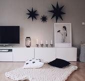 Ein Lowboard – viele Dekorationsideen Ikea BESTÅ richtig ins Szene setzen
