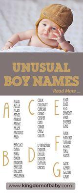 25 der ungewöhnlichsten Babynamen   – Baby Names
