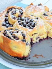 Photo of Blueberry snails – I have to bake