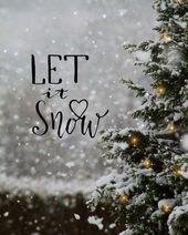 Photo of Weihnachtsstimmung #weihnachten Winter Girl auf Instagram: Let It Snow #christmastre …