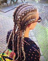 20 coiffures de tresse cool