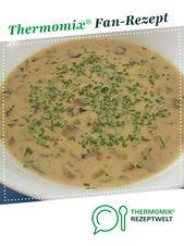 Crema de champiñones   – Mein Thermomix