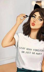 Photo of #Girl Makeup Drawing