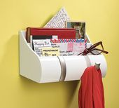 Cubby Wall Organizer – Wall mounted organizer with…