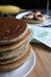 Photo of Fluffy pancakes { sans gluten, sans lait, sans œufs } – Alle…