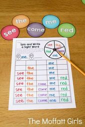 SIGHT WORDS: Enjoyable and Efficient Methods to Train Them!