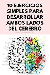 10 ejercicios simples para desarrollar ambos lados del cerebro #autoayuda #psico… – a de todo