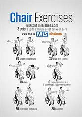 Image Result For Printable Chair Exercises For Seniors Chair Exercises Wheelchair Exercises Senior Fitness