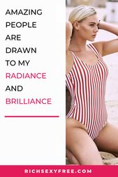 Amazing People Are Drawn To My Radiance And Brilliance | Affirmations For Women Quotes Mantras