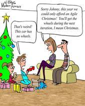 Humor – Cartoon: Merry Agile Christmas