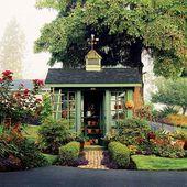 12 Garden Shed Plans   – Backyard