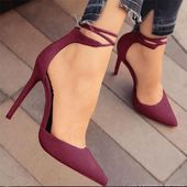 Zapatos de mujer Tacones Altos Bombas Sandalias   – Schuhes