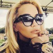 Retro Oversized Pilot Sunglasses Women – glasses