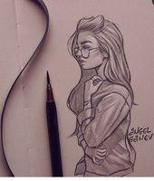Zeichnungen außergewöhnlich   – inspiration zeichnen – #Außergewöhnlich #Inspiration #zeichnen #Zeichnungen