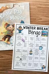 Free Printable Winter Break Bingo – Main Playground