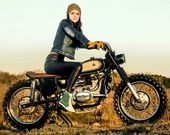 Habermann & Sons Classic Motorradbekleidung   – motorcycle girls