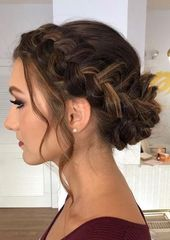 20 easy prom hairstyles for long hair and short hair elegant ideas 2019 6