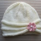 """Instant Download Knitting Pattern Hat """"Nelly"""" in Three Sizes #242"""
