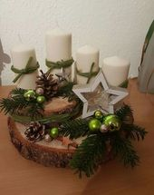 Create an unusual Advent wreath without needles this year: 31 magical and …