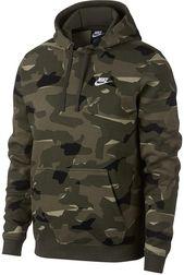 Nike Men Sportswear Camo Print Fleece Hoodie em 2020
