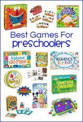 30 der besten Spiele für Kinder im Vorschulalter – – Preschool Ideas