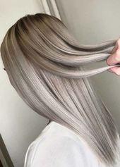 Hier sehen Sie unsere beste Sammlung von aschblonden Haarfarben, Ideen und Trends   – Frisuren