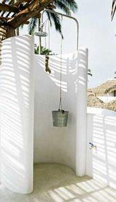 Douche de jardin à installer pour l'été