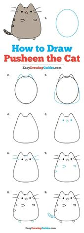 #zeichnentutorial #zeichnungen #einfaches #zeichnet #pusheen