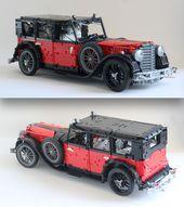 Lego Technic Big Mercedes 770 | DER LEGO AUTO BLOG   – Lego Creations Ideas