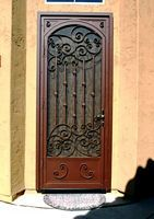 Athens - Tuscany style security screen door custom made by //. & First Impression Security Doors Shares Home Security Tips | First ... pezcame.com