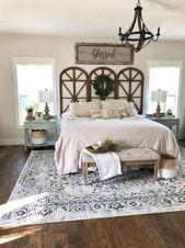 40 Classic Farmhouse Bedroom Design and Decor Ideas That Make Your Home Feel Great – h o m e
