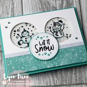 Let It Snow – 4 Snowman Season Card Ideas