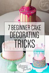 7 Easy Cake Decorating Trends For Beginners – Cake decorating for beginners