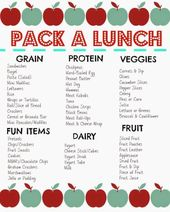 Packed Lunch Box Ideas (Free Printable) & Favorite Lunchbox Tools – The Chirping Moms