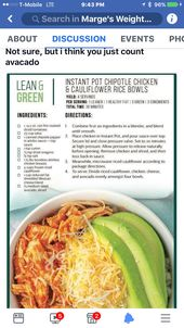 Lean and Green OPTAVIA meals