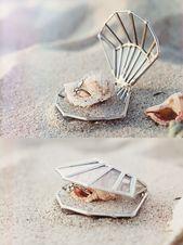 Seashell Ring Box   Beach Wedding Decor
