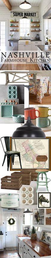 Meer dan 1000 ideeën over farmhouse kitchen inspiration op ...