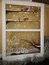 Feine Fensterbilder zu Weihnachten und Winterzeit – Archzine.net