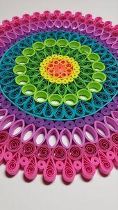 Paper Quilled Mandala – 9×9