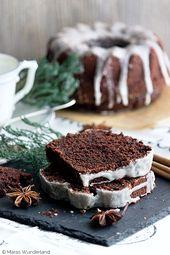Natal e suculento: bolo de especiarias   – Kochrezepte